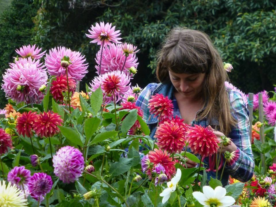 Alexis at Dahlia Garden
